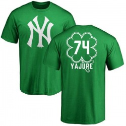 Youth Miguel Yajure New York Yankees Dubliner Name & Number T-Shirt - Kelly Green